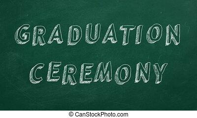 graduation ünnepély