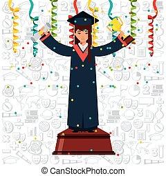 graduation achievement design