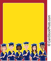 Graduation Border