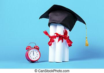 graduation time