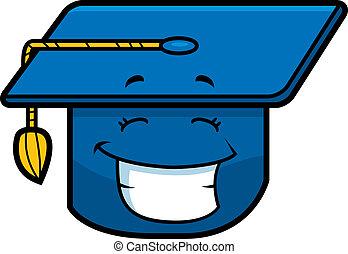 Graduation Cap Smiling