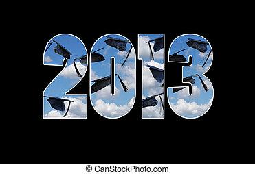 graduation caps for 2013