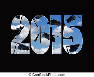graduation caps for 2015