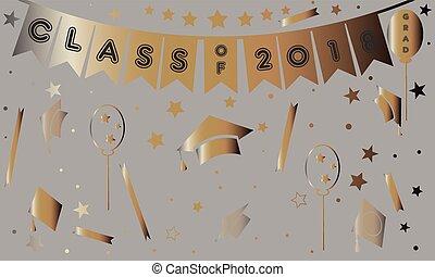 Graduation Class of Year 2018.