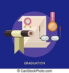 Graduation Conceptual illustration Design