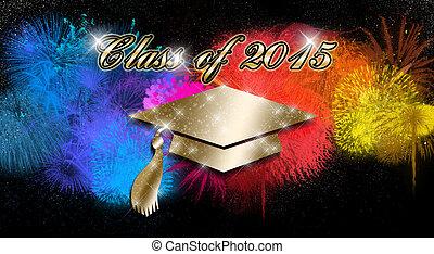 Graduation Day - An abstract illustration on Graduation Day