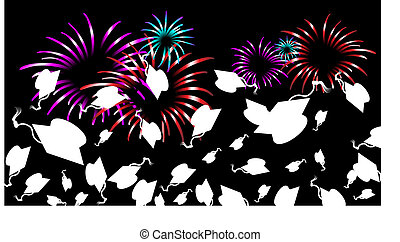 Graduation Fireworks