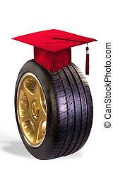 Graduation Gift. - Graduation gift of a new car.