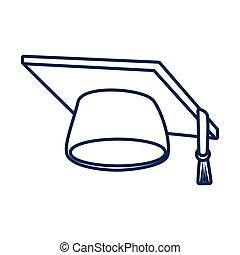 Graduation hat cap