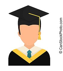 Graduation icon design