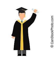 Graduation icon design