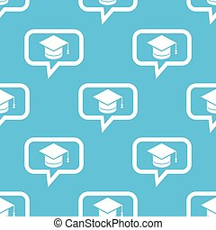Graduation message pattern