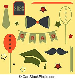Graduation Package in retro style
