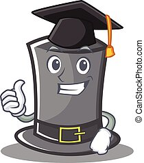 Graduation Thanksgiving hat character cartoon