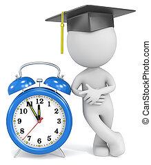 Graduation time.