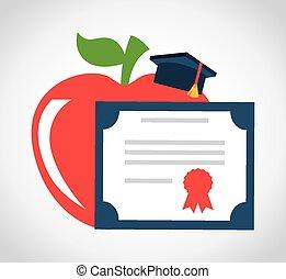 graduazione, concetto