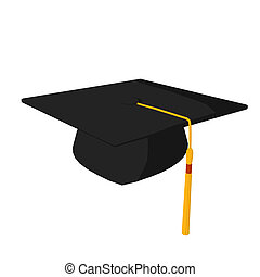 Graducation Cap Illustration