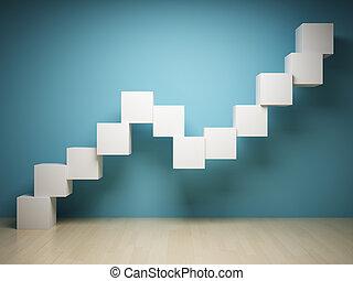 graf, abstraktní, trojmocnina