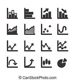 graf, dát, ikona