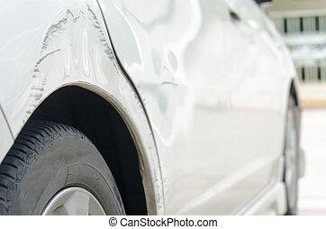 graffiato, automobile