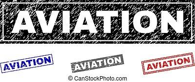 graffiato, aviazione, francobolli, grunge, rettangolo