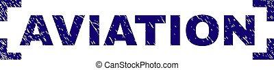 graffiato, francobollo, angoli, sigillo, fra, aviazione, textured