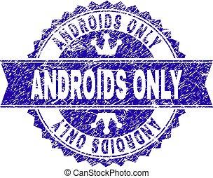 graffiato, francobollo, textured, androids, soltanto,...