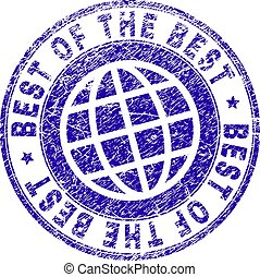 graffiato, francobollo, textured, meglio, sigillo