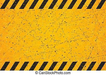graffiato, rectangle., illustration., segno., portato, vettore, nero, vuoto, strisce, avvertimento