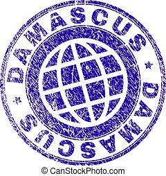 graffiato, textured, damasco, francobollo, sigillo