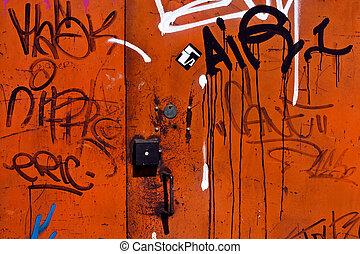 graffiti, achtergrond