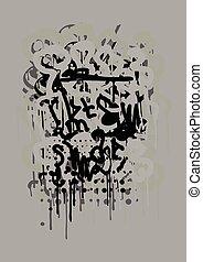 Graffiti Art Background