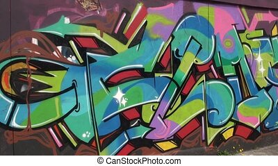 Graffiti, Artwork, Paintings, Murals