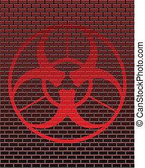 Graffiti - biohazard