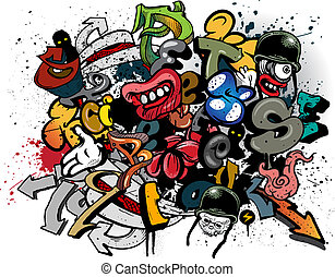graffiti - Dessin Graffiti