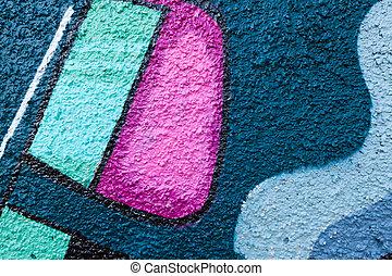 Graffiti closeup