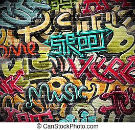 graffiti, grunge, texture