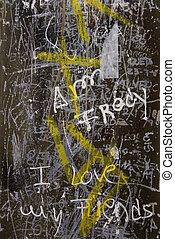 Graffiti in Lisbon, Portugal.