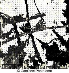 Graffiti on a black background vector illustration