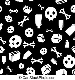 Graffiti seamless pattern - Universal vector fashion...