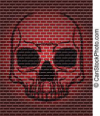 Graffiti - skull