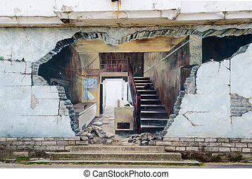 graffiti, straße kunst