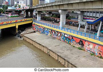 Graffiti street art in Malaysia
