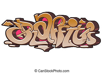 graffiti urbain, art