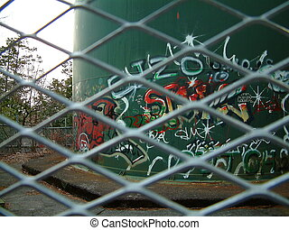 Graffitti Tank
