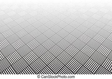 grafické pozadí., abstraktní, kostkovaný, geometrický