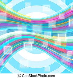 grafické pozadí., abstraktní, přenosové články, společenský