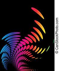 grafické pozadí, komponování, pavučina, šablona, (halftone)
