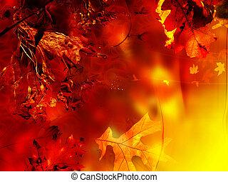 grafické pozadí, květinový