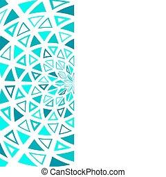 grafické pozadí., neposkvrněný, trojúhelník